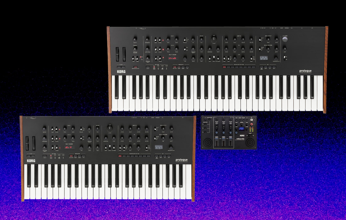 Korg Announces New Prologue Synth & Volca Mix