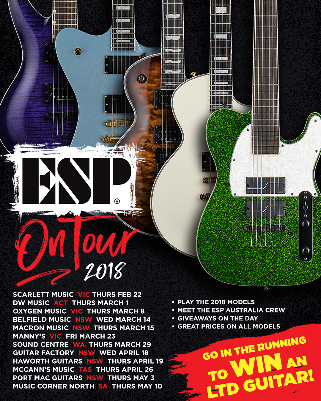 ESP ON TOUR – 2018 — Noisegate