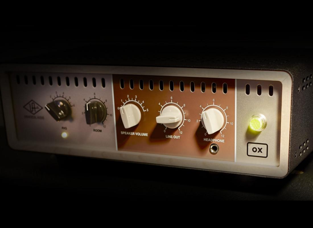 Universal Audio OX - The Top Box companion your amplifier deserves