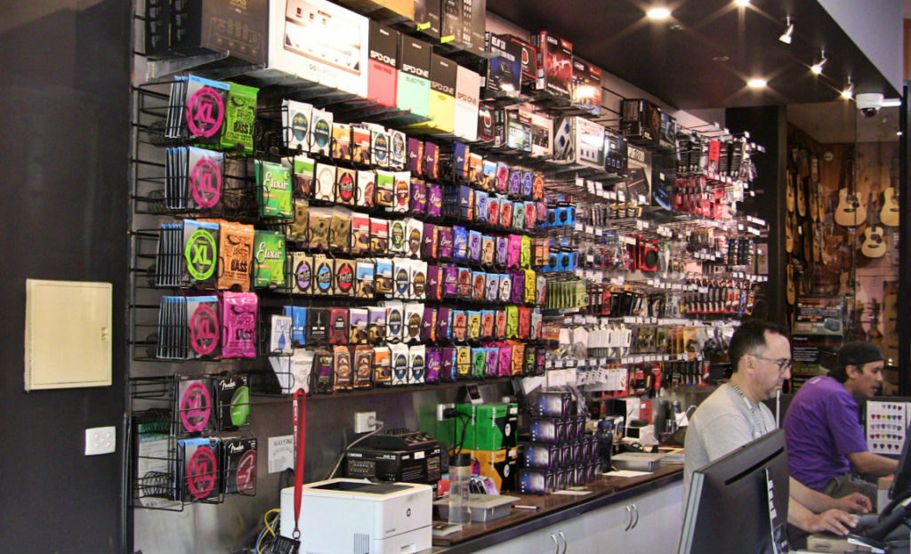 Store Spotlight: Mannys Music Instruments & Pro Audio
