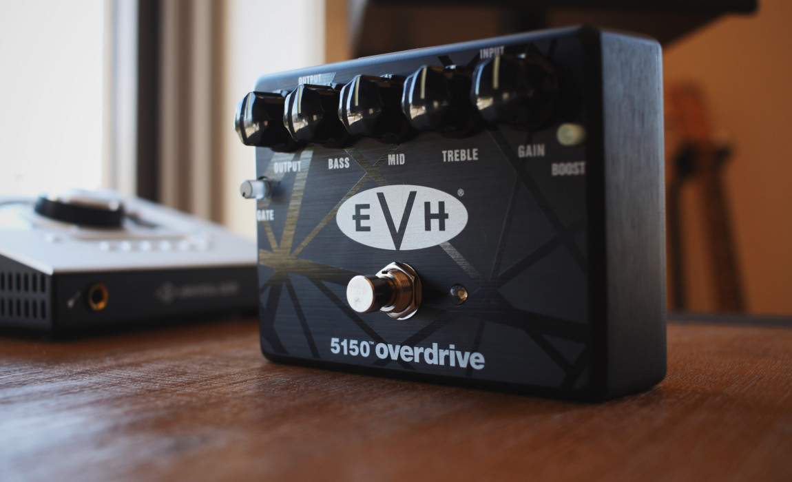 TIMMKV Reviews The MXR EVH 5150 Eddie Van Halen Overdrive Pedal
