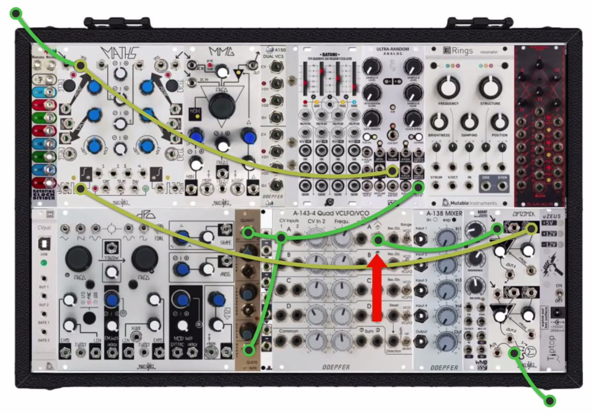 Syncing A Eurorack Modular To Ableton Live