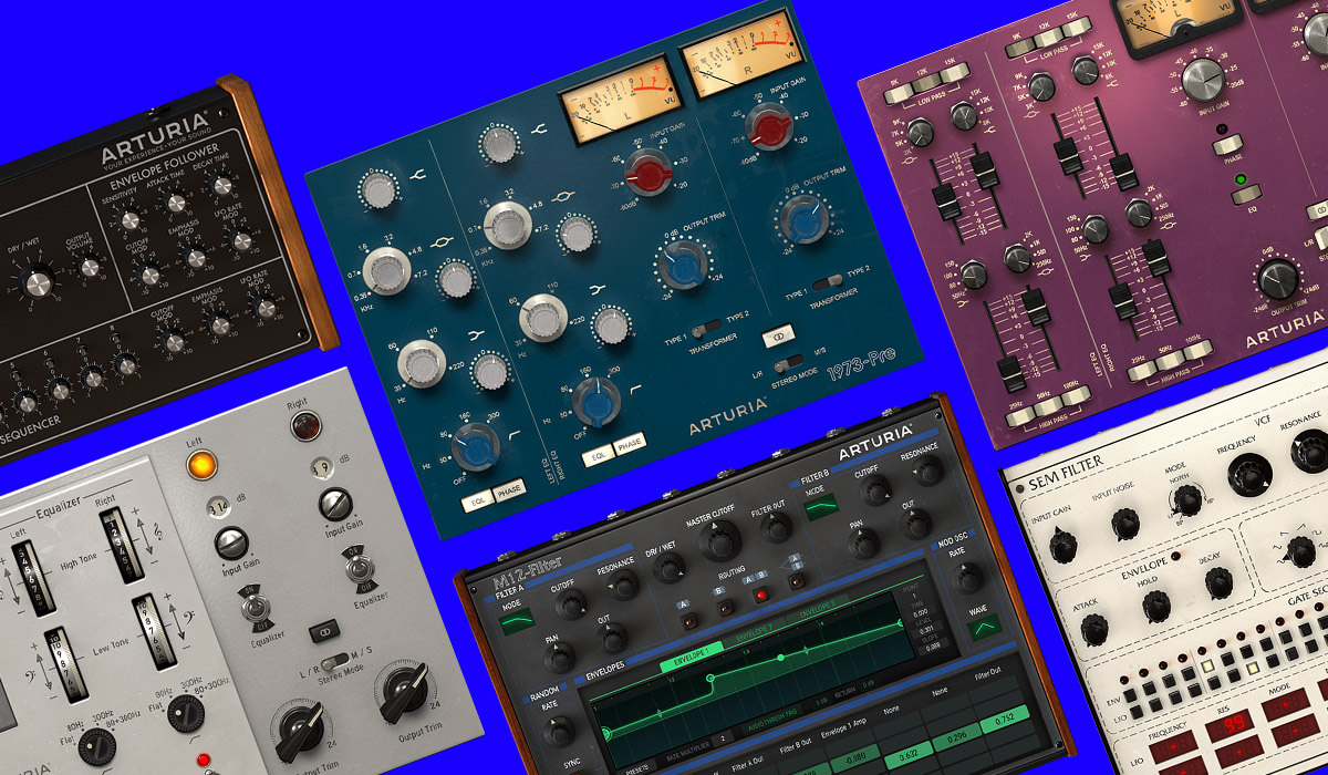Arturia Announce Vintage Filter & Preamp Emulation Plugins