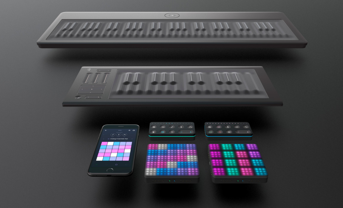 Acoustic Modelling SWAM engine brings Instrumental Sounds to ROLI Interfaces