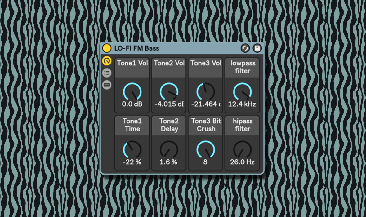 Free Download: Ableton Live 10 Lofi FM Bass Synth Rack