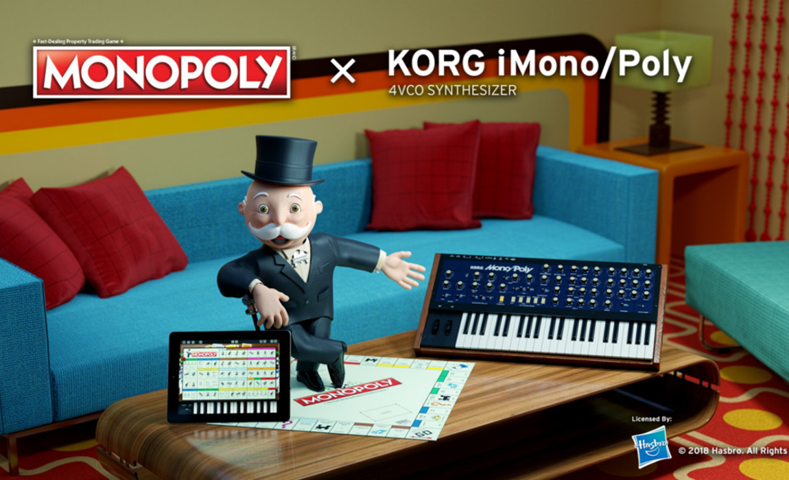Korg's Monopoly x iMono/Poly is no April Fools Joke