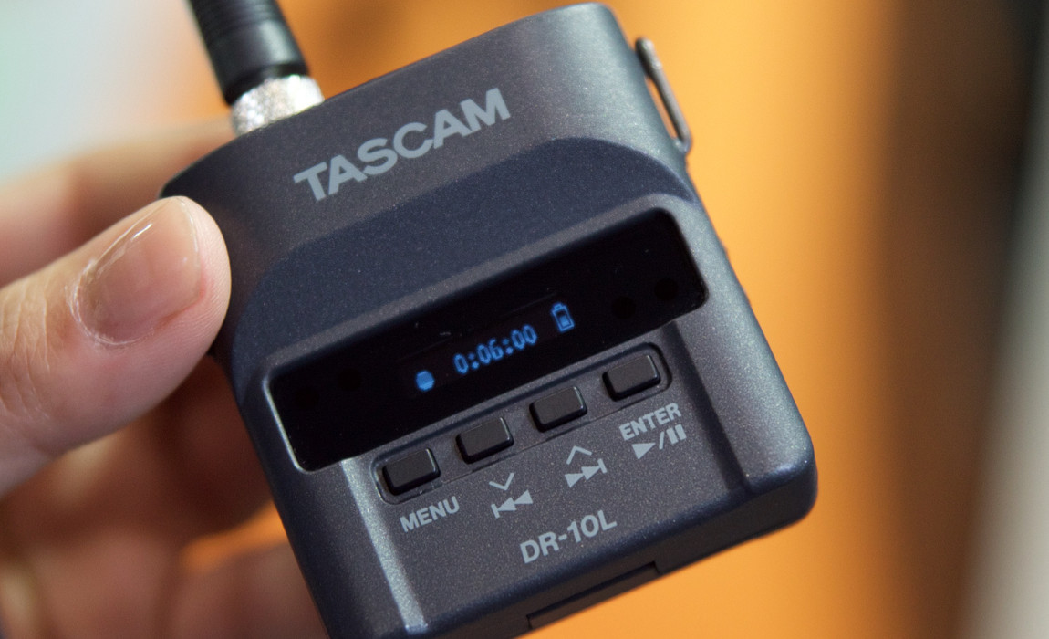 Tascam DR-10L: Perfect for Mobile Live Recording