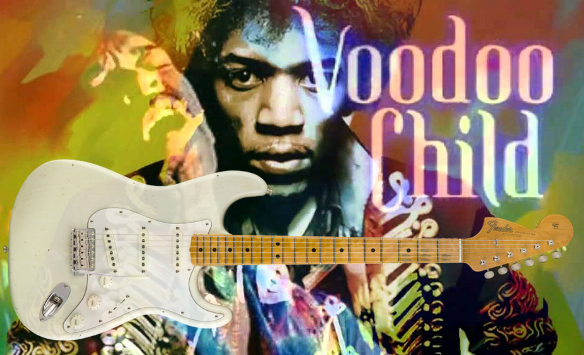 Fender: Jimi Hendrix Voodoo Child™ Strat® Guitar
