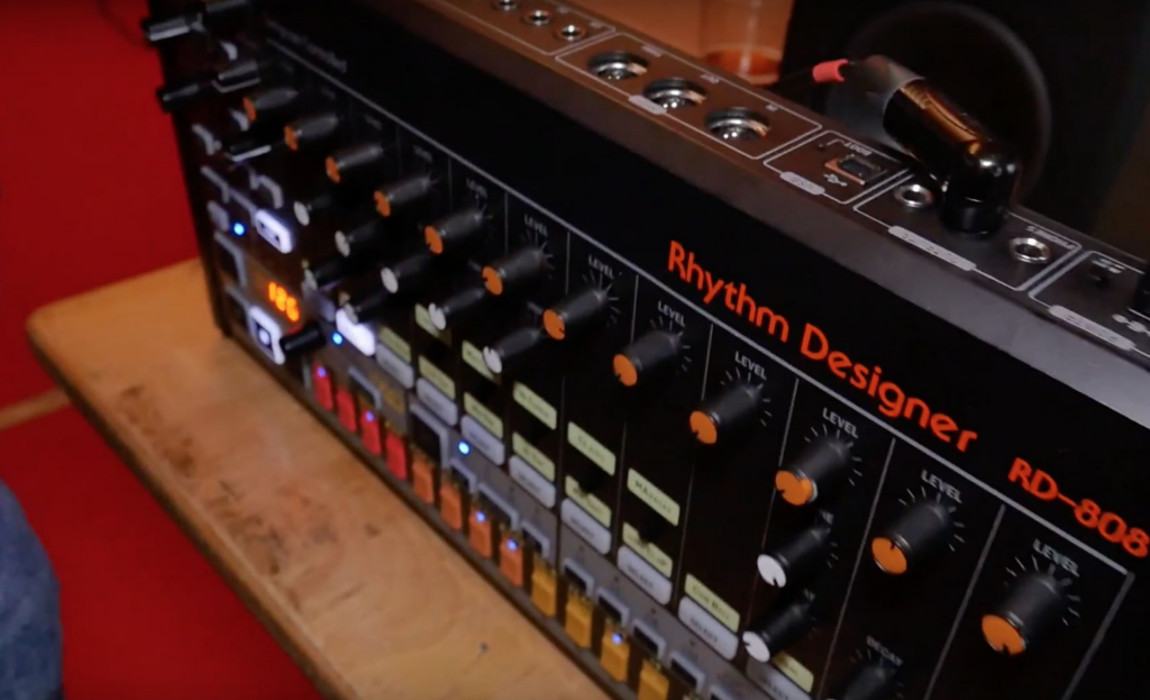 Behringer Announces Analog TR-808 Clone RD 808