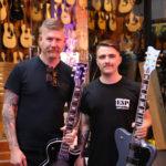 Bill Kelliher @ Mannys Music Melbourne