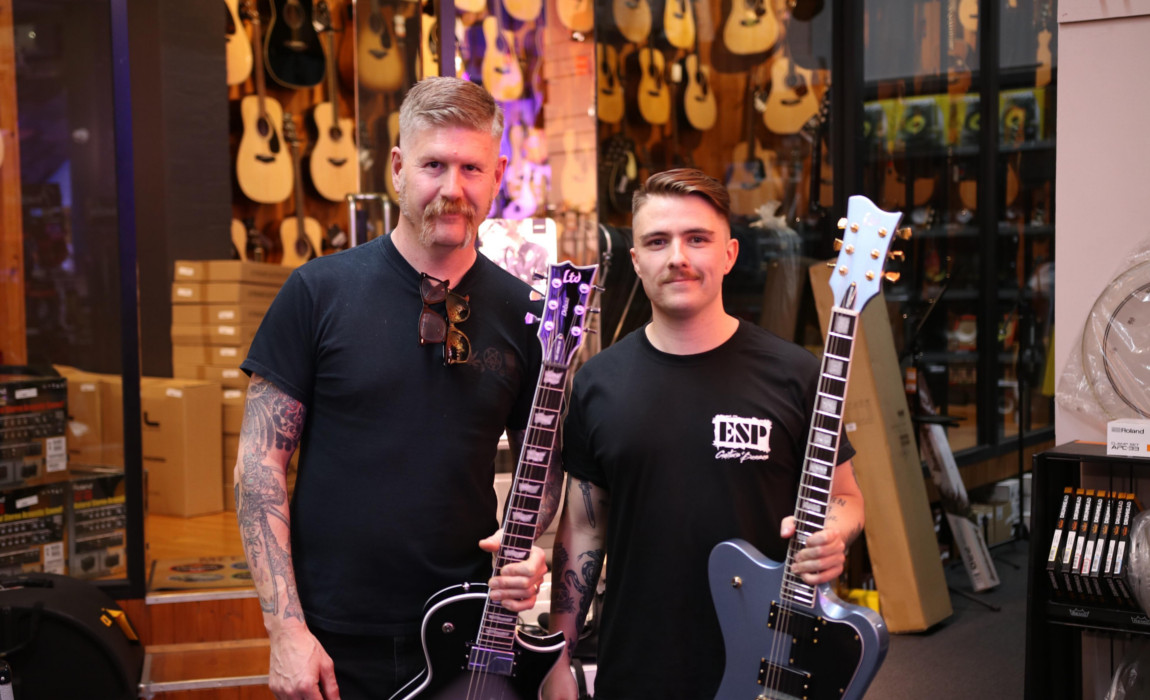 Bill Kelliher @ Mannys Music Melbourne