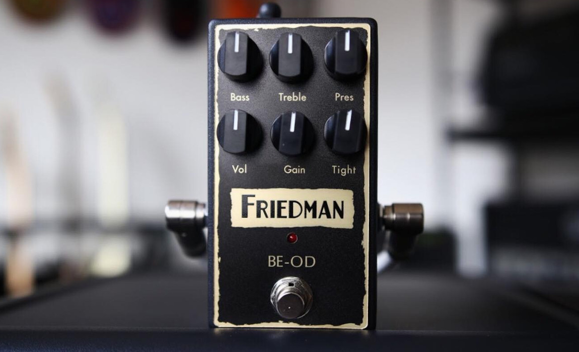 TIMMKV Demo of the Friedman BE-OD Overdrive Pedal