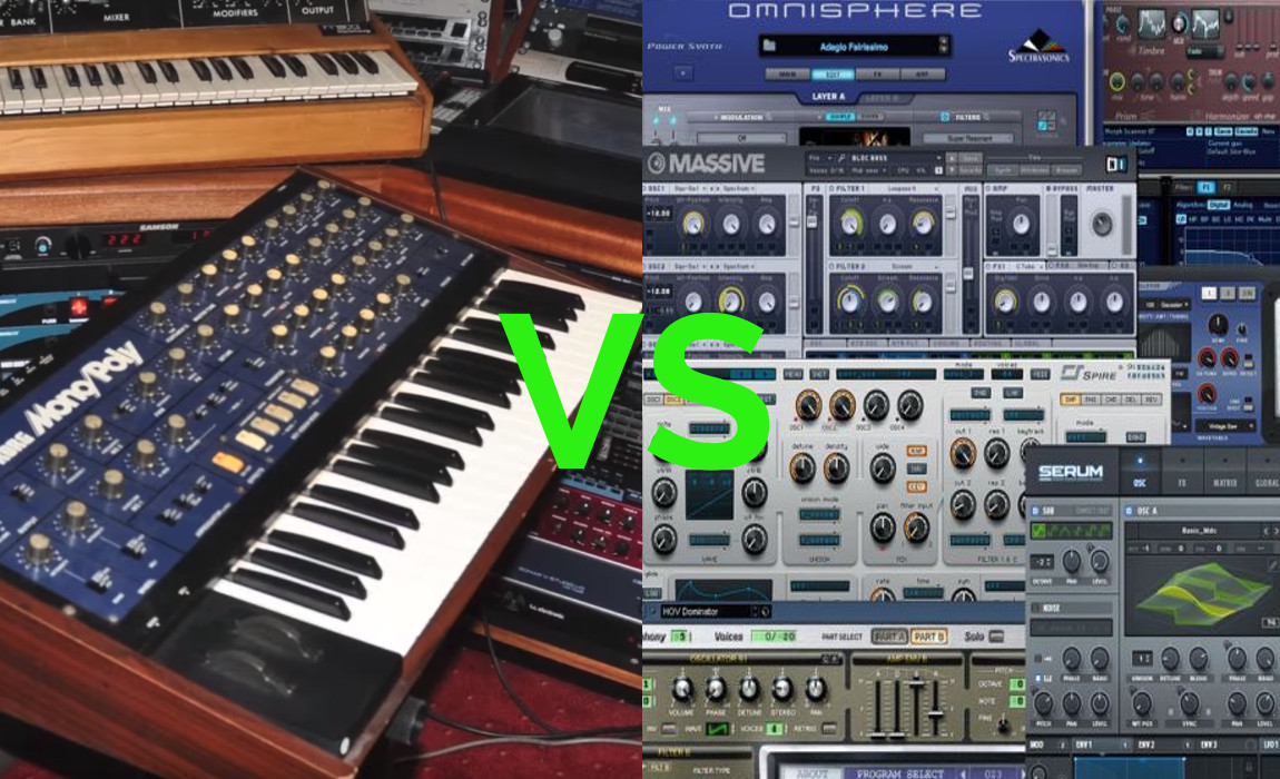 Hard vs Soft: What's Your Synth of Choice?