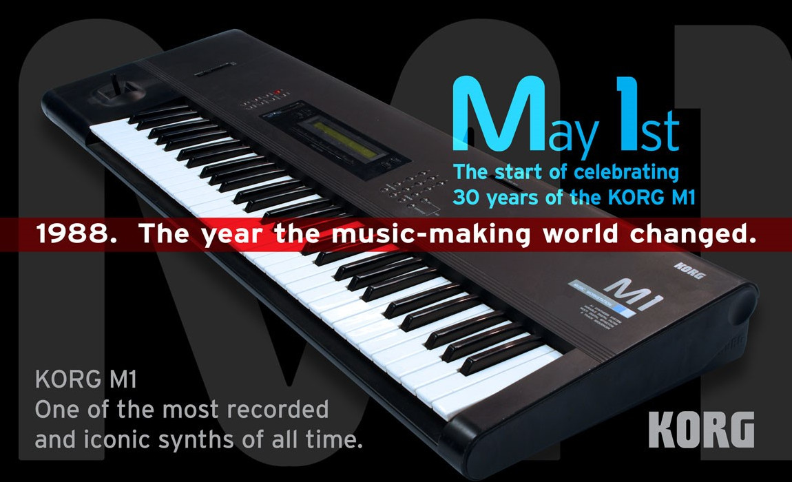 Korg M1 Celebrates its 30th Anniversary