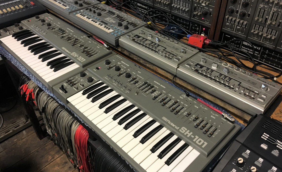 Steve Williams is addicted to synthesisers