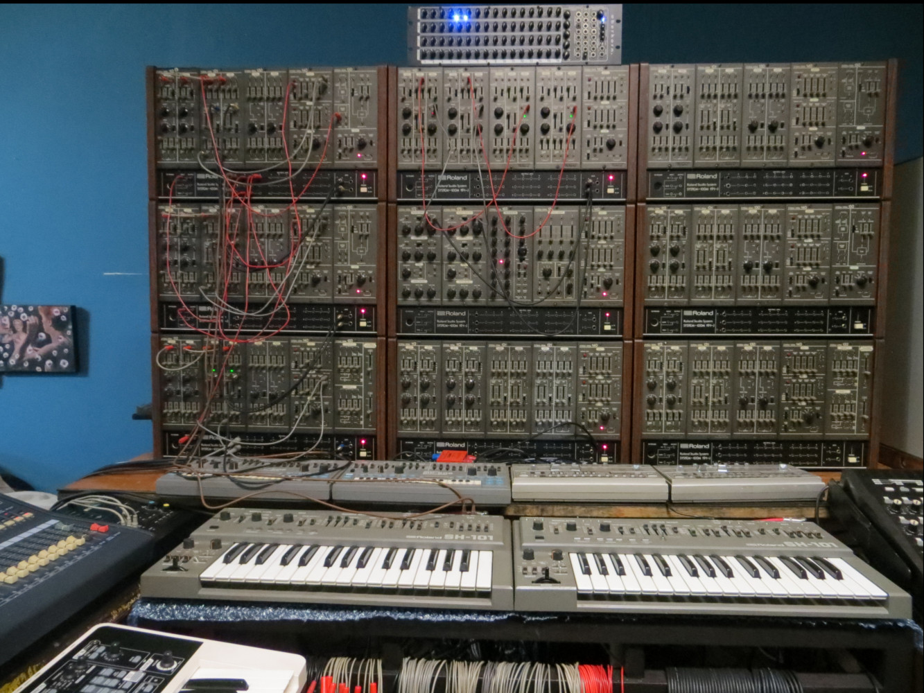 Steve Williams: Addicted to synthesisers