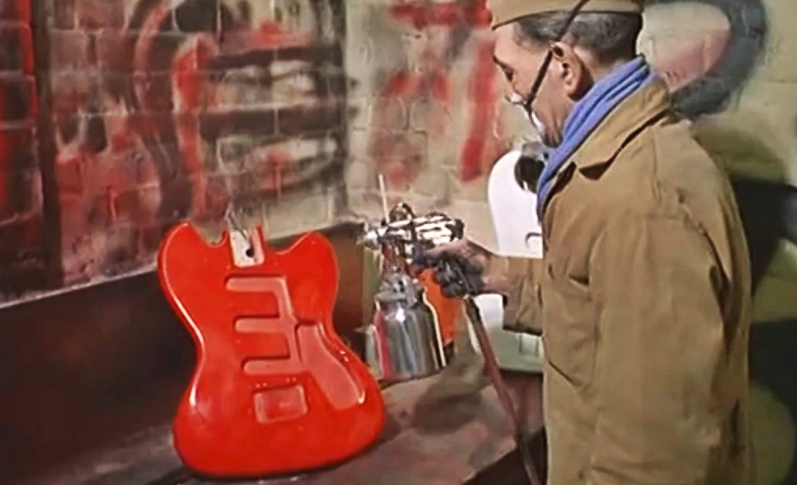 Watch How Guitars Were Made in 1965 England