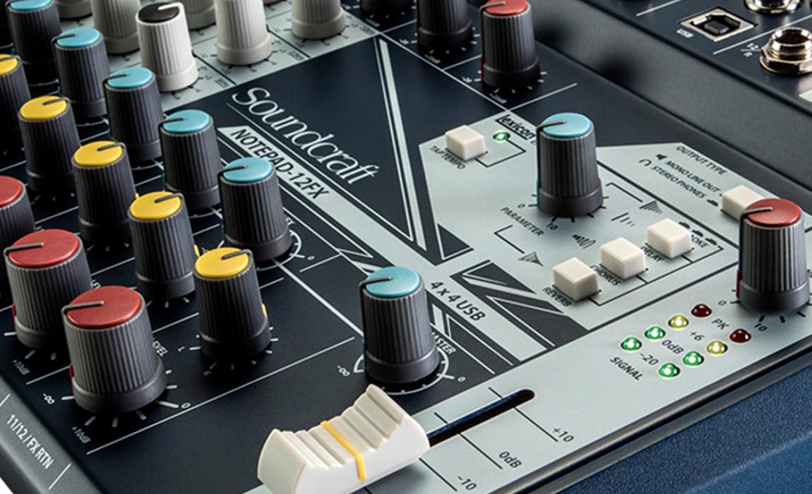 Analogue Mixer & USB interface