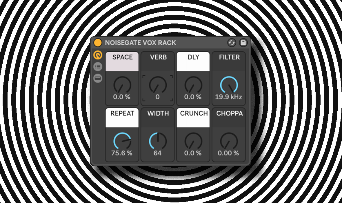 Free Download: Ableton Live 10 Vox Chop Sample & FX Rack
