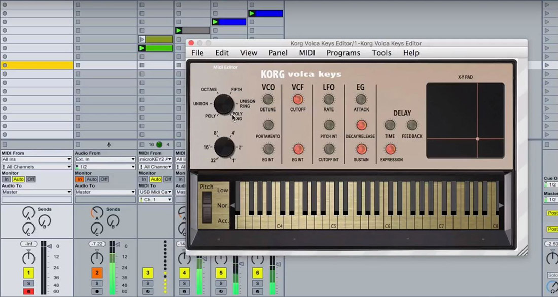 Momo adds Volca Keys to Library of VST Hardware Editors