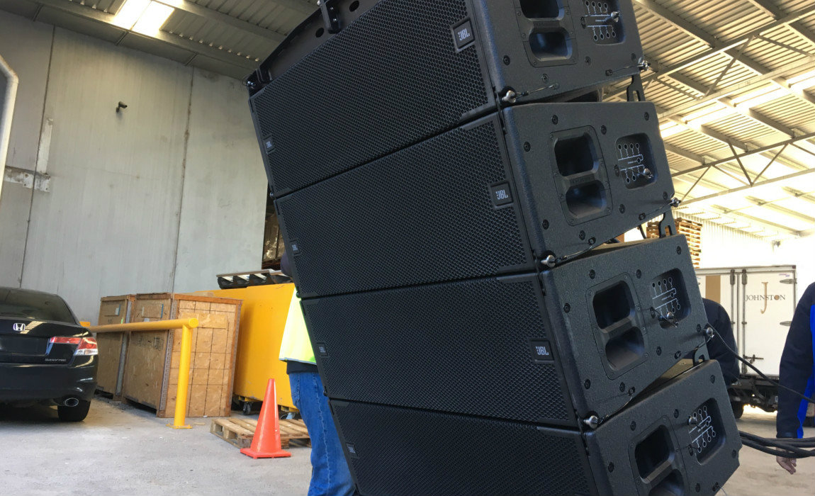 Harman's Suparman Delivers JBL VTX A12 for Guy Sebastian