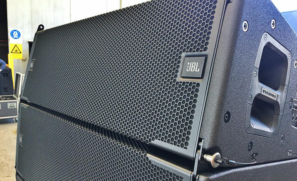 Harman's Suparman Delivers JBL A12 for Guy Sebastian JBL VYX A12