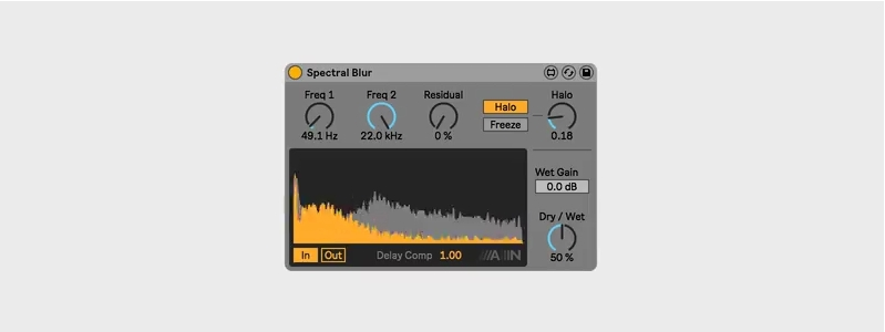 Creative Extensions: Ableton Spectral Blur
