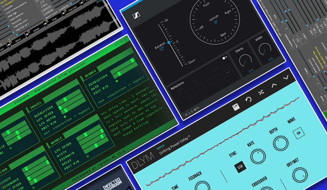 Five of our Favourite Free Plugins of 2018 (So Far)