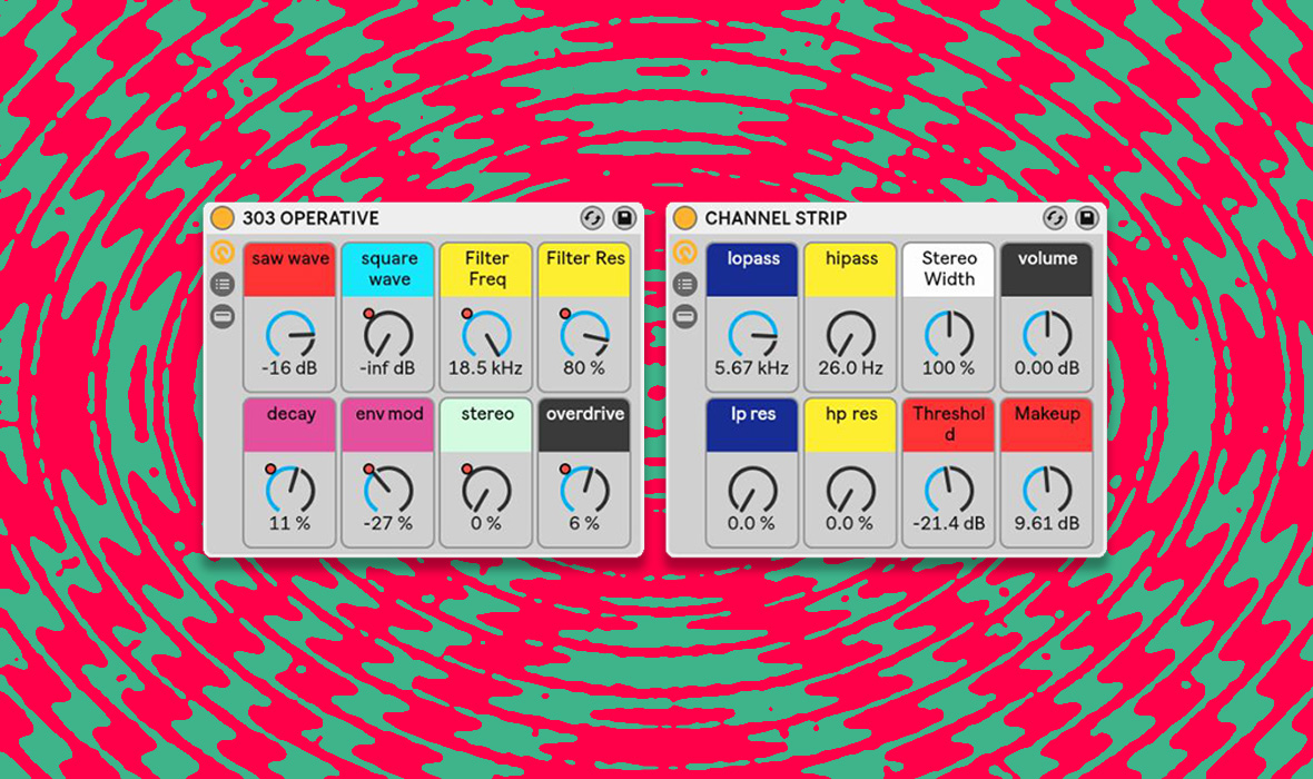 Free Download: Ableton Live 303 Emulator Rack + Channel Strip