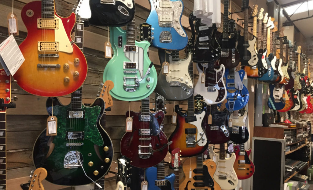 Shop Talk: Found Sound Guitars