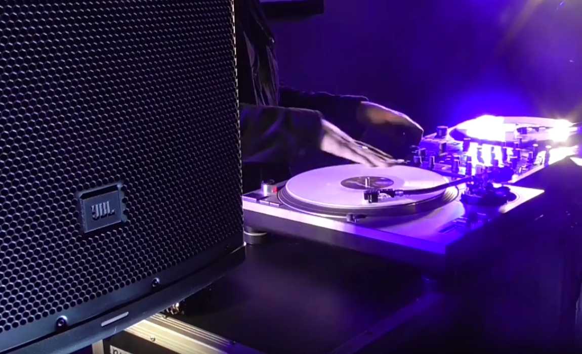 "DJ ""GTB$Y"" Mixes it Up With JBL Pro EON 615"