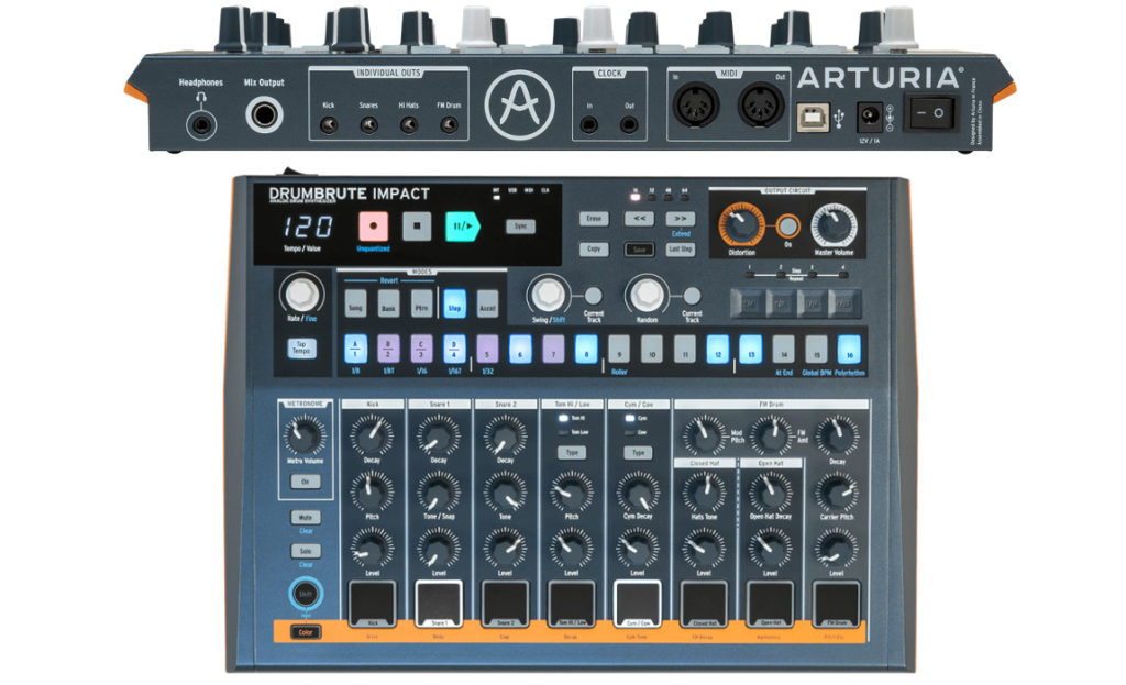 Arturia Announce New Drumbrute Impact Drum Machine