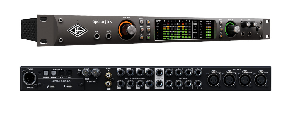 Universal Audio Launches New Apollo X Audio Interfaces
