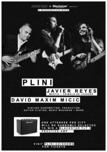 Plini to Giveaway a Blackstar FLY at His Masterclass!