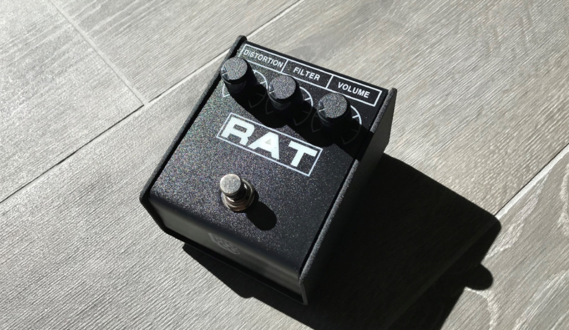 The Rat King Distortion Pedal