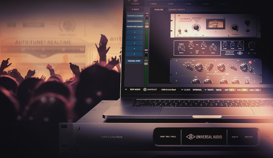 The Universal Audio UAD-2 Live Rack Has Arrived