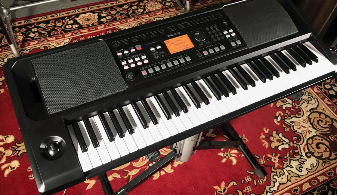 KORG EK-50: The Entertainment Keyboard