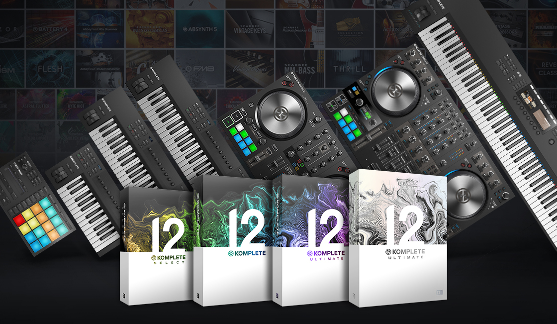 12 New Products from Native Instruments