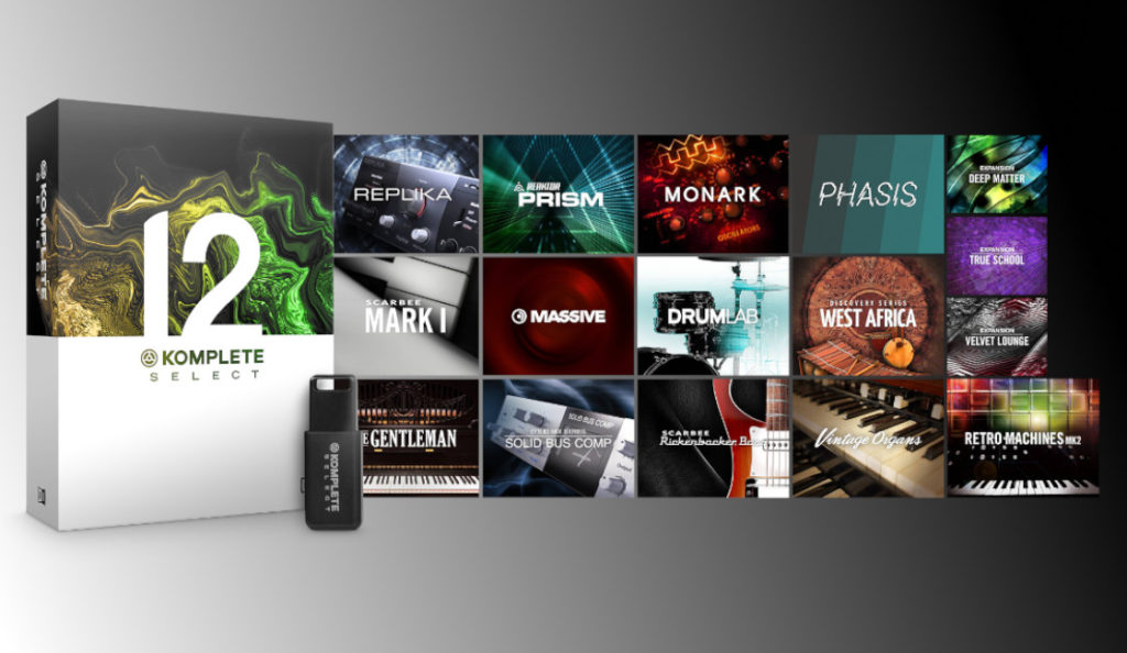 New Native Instruments KOMPLETE 12 SELECT