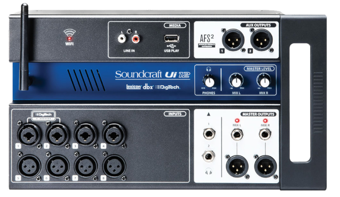Digital Mixer Solutions for Solo, Duo and Trio Acts
