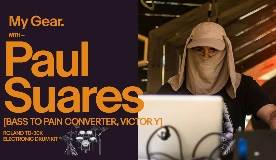 My Gear: Paul Suares [Bass To Pain Coverter, Victor Y]