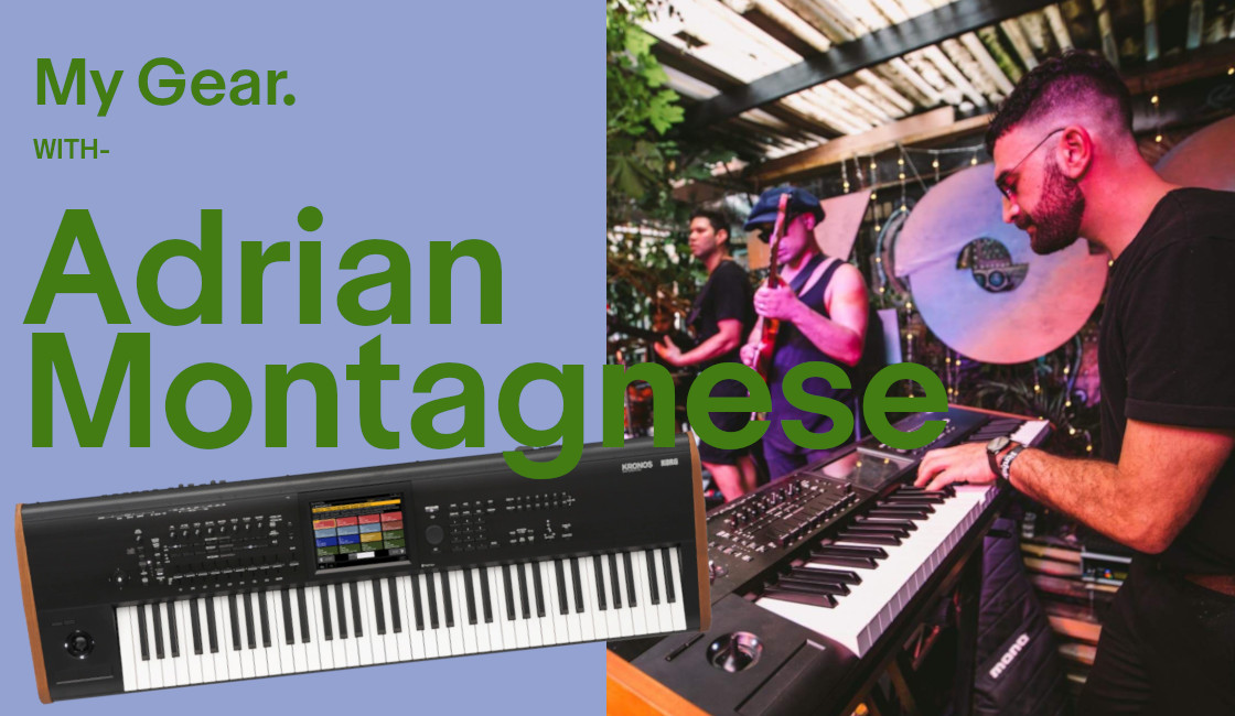 My Gear: Adrian Montagnese