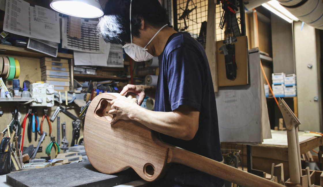 Noisegate Tour of ESP Guitars Factories Japan