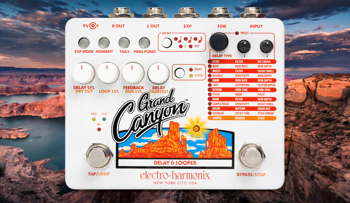 Electro-Harmonix: Grand Canyon Delay & Looper