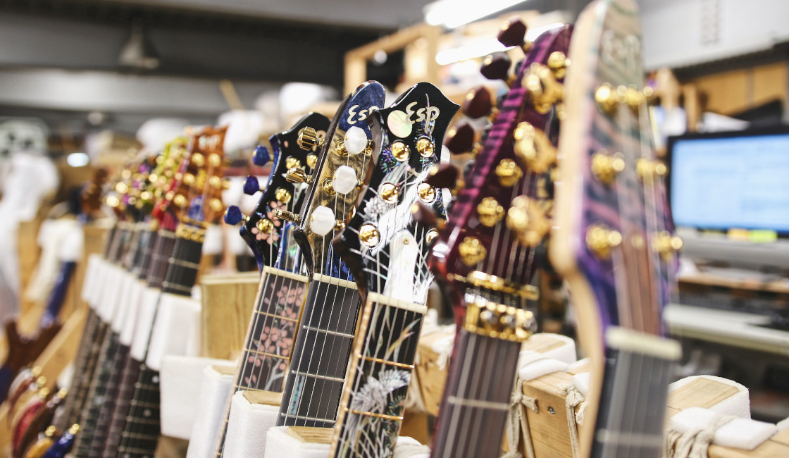 Noisegate Tour of ESP Guitars Factories Japan