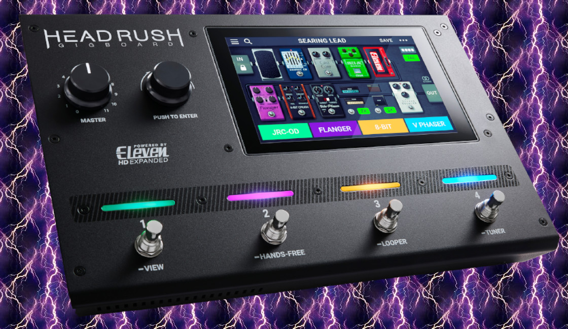 GigBoard: New Multi-Effects Pedalboard by HeadRush