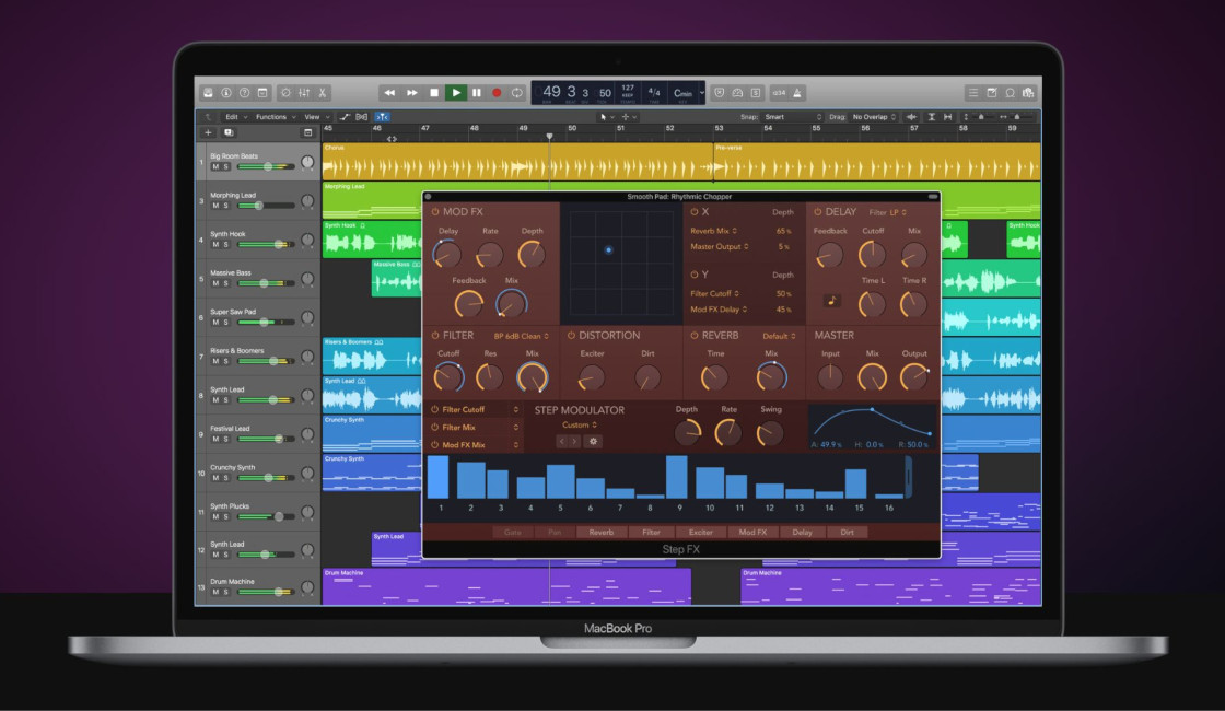 Apple Logic Pro X 10.4.2 With New Features & Improvements!