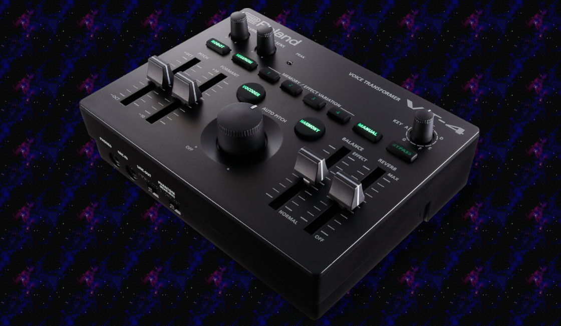 Roland VT-4 Transformer Has a New Voice