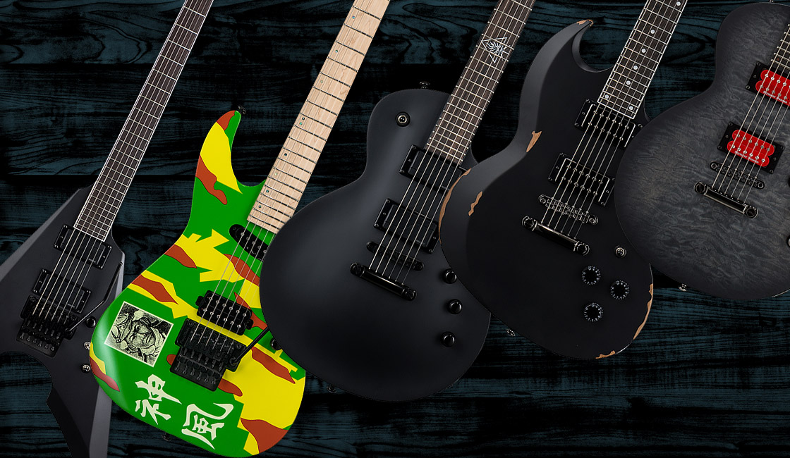 New 2018 ESP-LTD Guitars Signature Series Have Landed in Australia