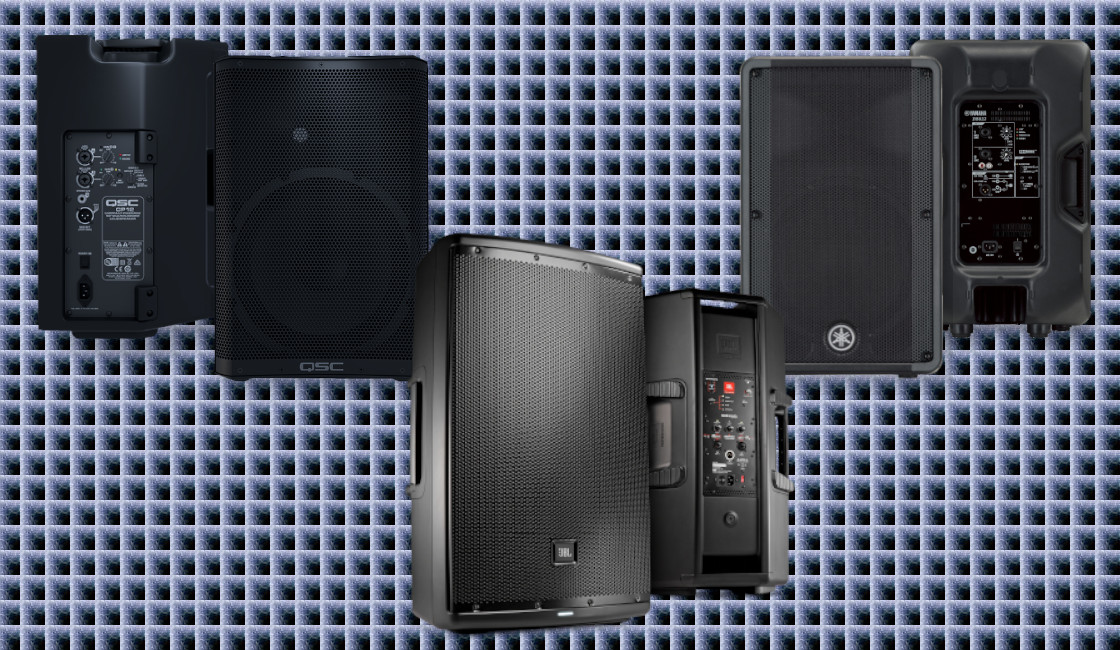 Speaker Box Comparison – JBL, Yamaha and QSC